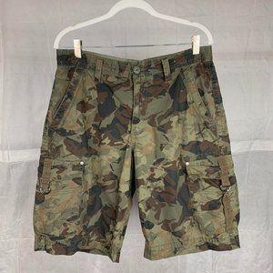 Route 66 Camo Cargo Shorts